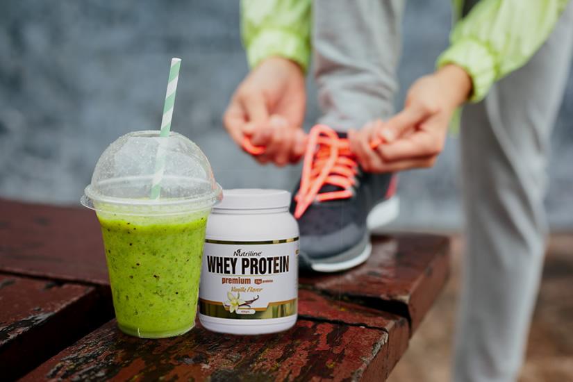 Batido tipo Frapuccino con Whey Proteín - Blog Nutriline